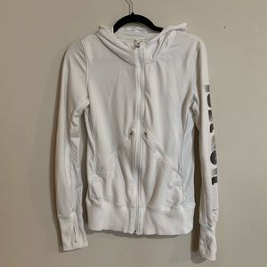 Nike | White Zip Up Jacket Size Small Women's